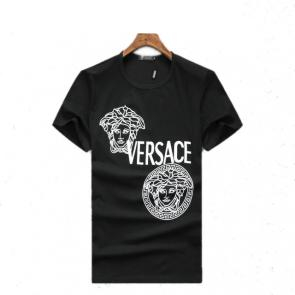 new men shirts tee shirt manches courtes homme two medusa discount
