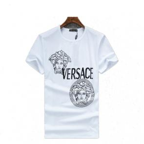 new men shirts tee shirt manches courtes homme two medusa ete