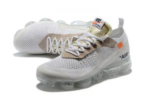 nike air vapormax2 hommes femmes basketball chaussures white gray