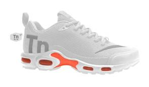 nike mercurial air max plus tn 36-46 plus 3 white gray orange