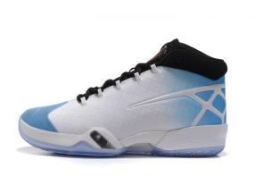 new air jordan 30 moins chers blue white