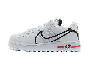 nike air force 1 sage low en cuir af2032 logo 3d white