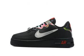 nike air force 1 sage low en cuir f2033 black