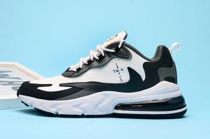 nike air max 270 react homme summit m1001 white black