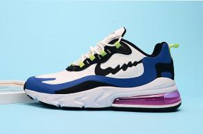 nike air max 270 react homme summit m1004 white blue pink