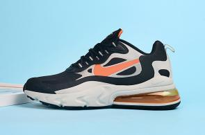 nike air max 270 react homme summit m1007 orange logo