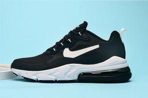 nike air max 270 react homme summit m1018 classic black white