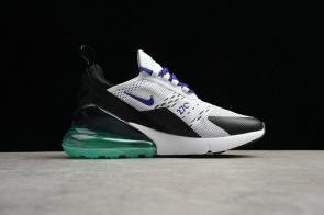 nike air max 270 chaussures de fitness femmes new 6789-103 white green