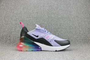 nike air max 270 shoes de fitness women new arc-en-ciel
