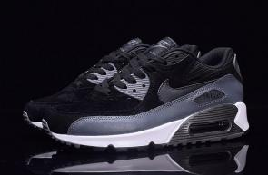 nike air max 90 essential man women black gray