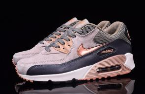 nike air max 90 essential man women brown black