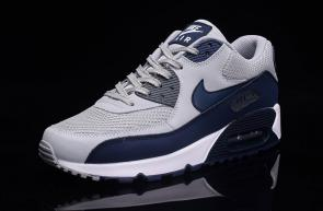 nike air max 90 essential man women gray blue