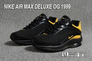 nike air max og deluxe 2018 running chaussures gold black
