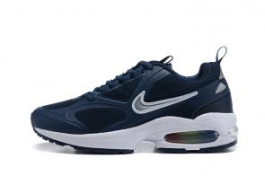 nike air max2 light mesh 2019 leather sneakers blue