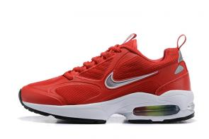 nike air max2 light mesh 2019 leather sneakers red