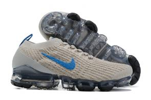 nike air vapormax 2020 fk flyknit sneakers gray blue