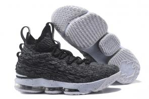 nike lebron 15 james grade school black classic