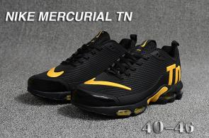 nike tn ultra mercurial hommes chaussures black gold
