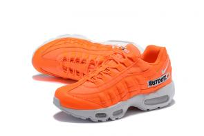 nike air max 95 femmes hommes sport 2000 justdoit orange