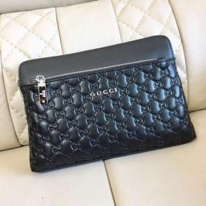 nouveau gucci clutch bag black black card bag gg227