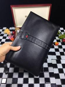 nouveau gucci clutch bag black envelopes gg cowhide g02