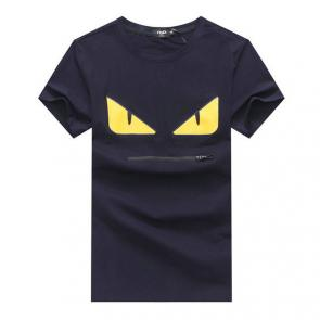 original fendi t-shirt luxory brands yellow eyes blue
