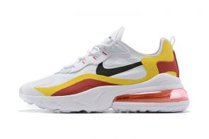 original authentique 2019 nouveaute nike air max 270  react yellow red