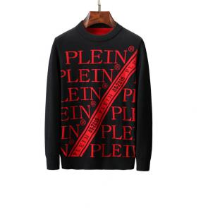 philipp plein pullover round neck qp738 plein stripe red