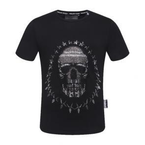 philipp plein t-shirt for hommes casual  jersey star skull