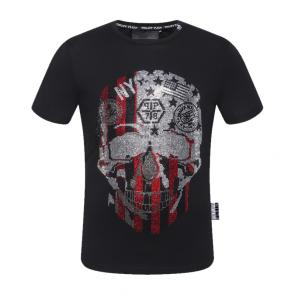 philipp plein t-shirt for hommes casual  qp79 ny star