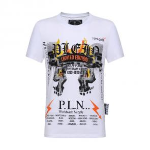 philipp plein t-shirt for men casual style pln limited edition thunder
