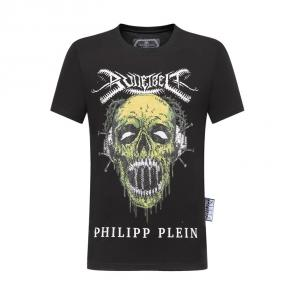 philipp plein t-shirt for men casual style snake head music