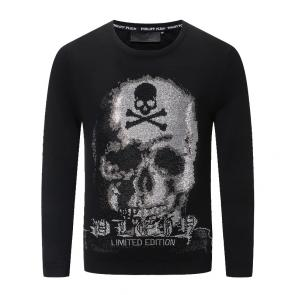 philipp plein sweat pull homme nouvelle collection automne hiver double skull limited edition