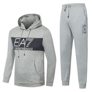 promotion de groupe jogging emporio armani center logo gray