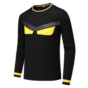pull long sleeves fendi cashmere yellow eyes
