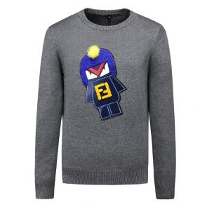 pull long sleeves fendi astronaut ff gray