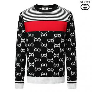 roundneck gucci pull in wool gg cachemire epaissie