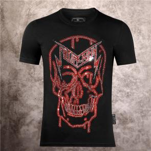 special prices on philipp plein round neck t-shirt new rock plein