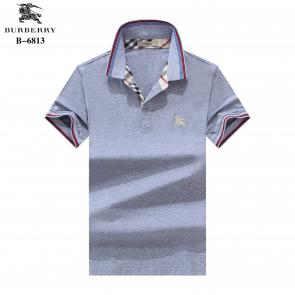 t-shirt burberry manches courtes col polo magasin france classic gray