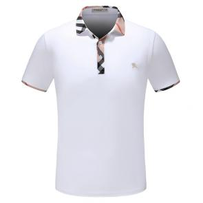 t-shirt burberry manches courtes col polo magasin france classic white