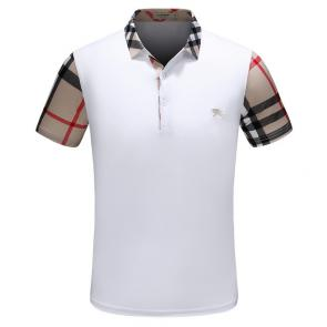 t-shirt burberry hommesches courtes col polo magasin france grille epaule