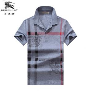 t-shirt burberry manches courtes col polo magasin france pony gray