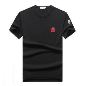 t-shirts moncler 2020 new season embroidered isp badge noir