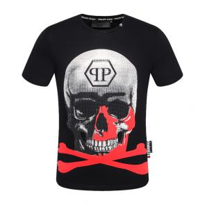 t-shirt garcon philipp plein cool red cross