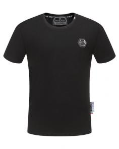 t-shirts philipp plein pour homme 2019 fr single color black
