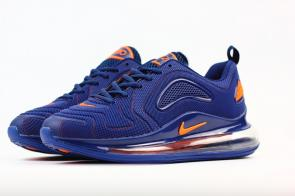 unisex nike air max 720 running chaussures nano dark blue red