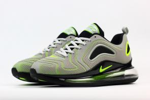 unisex nike air max 720 running chaussures nano light gray green