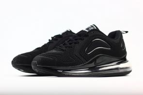 unisex nike air max 720 running chaussures nano all black