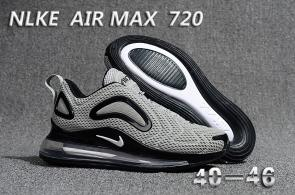 unisex nike air max 720 running chaussures silver bullet