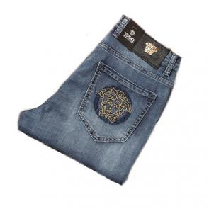 versace jeans couture slim fit stitched jean vv2 blue